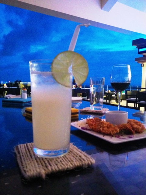rain restaurant north ambergris caye
