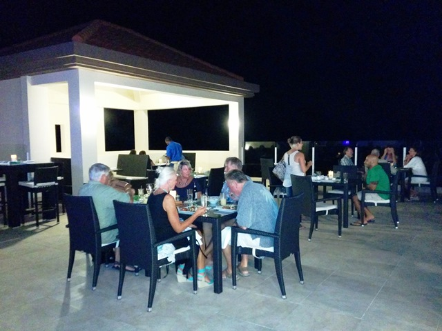 rain restaurant at grand caribe resort belize