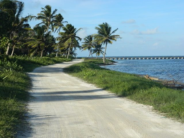 beach road belize