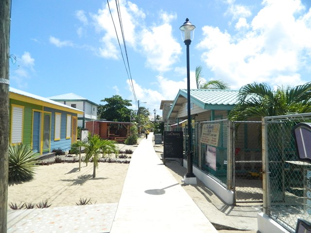 downtown placencia