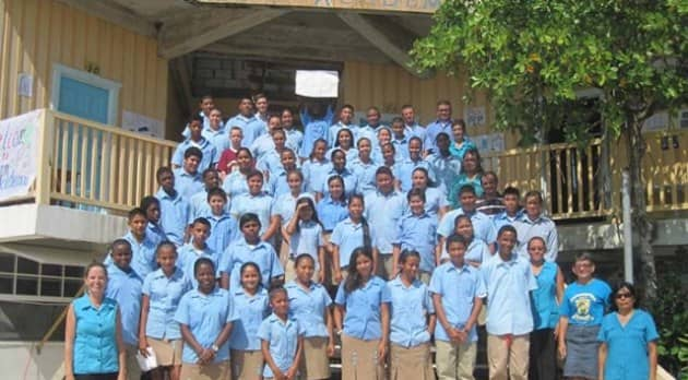 caye caulker belize school