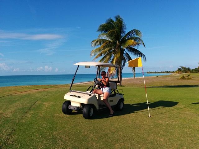 golfing in belize