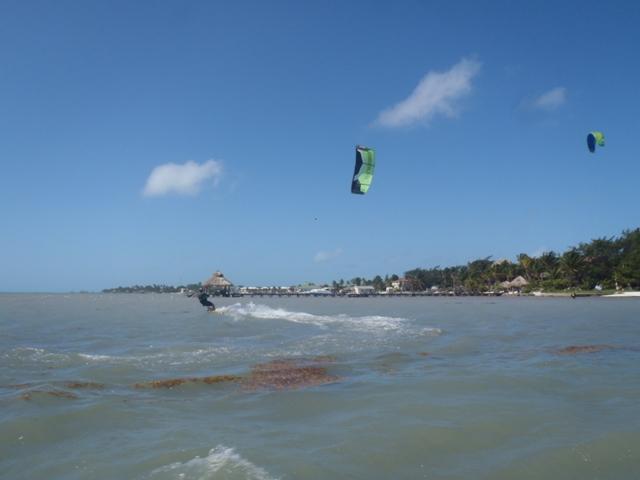 Kiteboarding elizbe