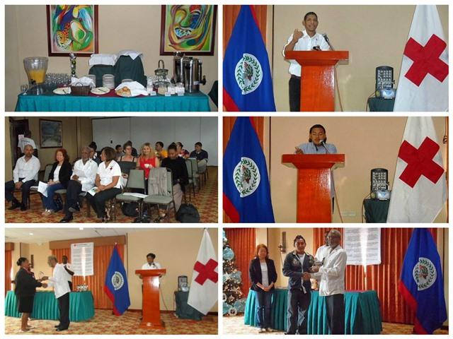 Belize Red Cross National Volunteer Day 2016