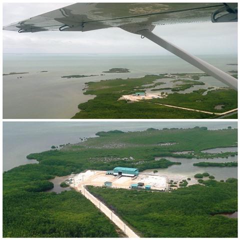 Trash Transfer Station San Pedro Belize