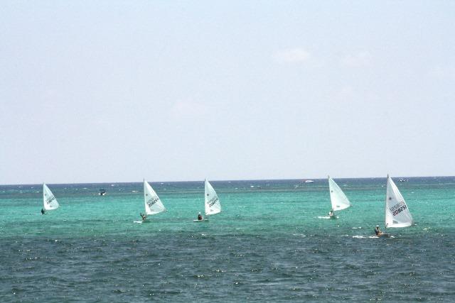 Youth sailing with San Pedro Sailing Club