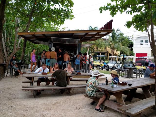 Truck stop Ambergris Caye Restaurant
