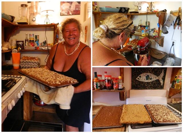 Pirate Girl Brownlies kitchen San Pedro Belize