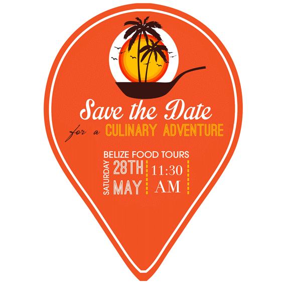 Belize Food Tours invitation