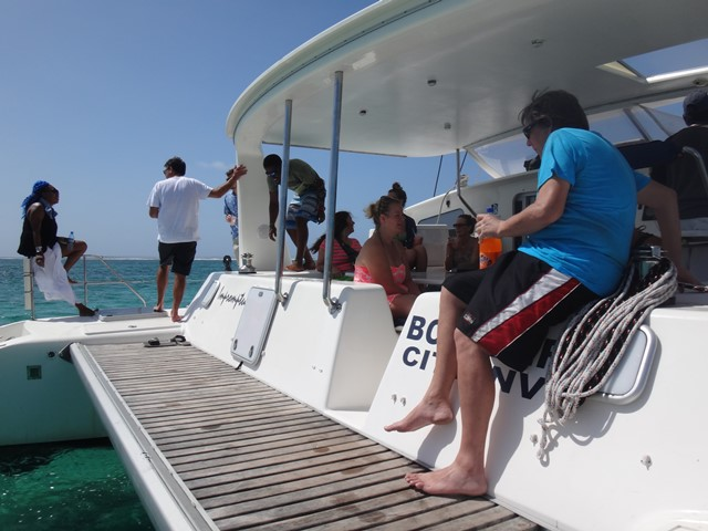 Day Sail to Caye Caulker with Ecologic Divers