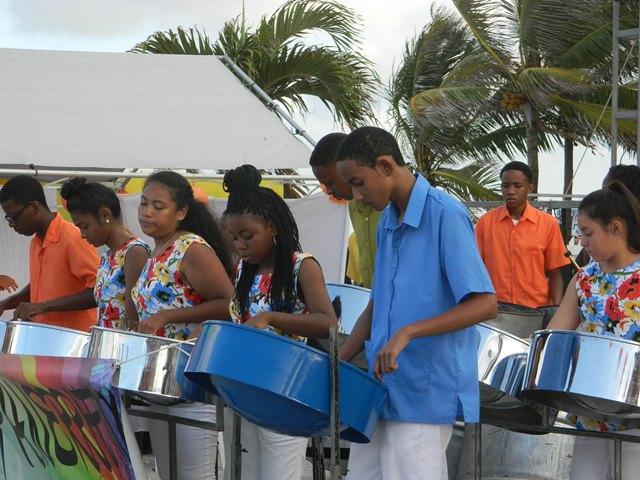 Steel Drum Band Belmopan Belize