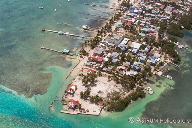 Hurricane Earl Caye Caulker Belize