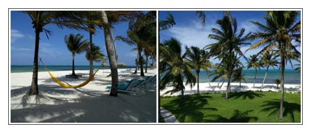 Beach at Victoria House Resort Belize