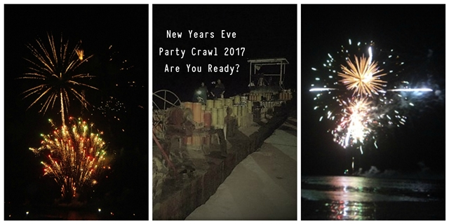 New Years Eve Party Crawl Ambergris Caye 2017