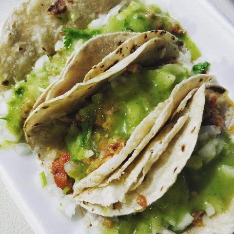 Street Food Ambergris Caye Belize