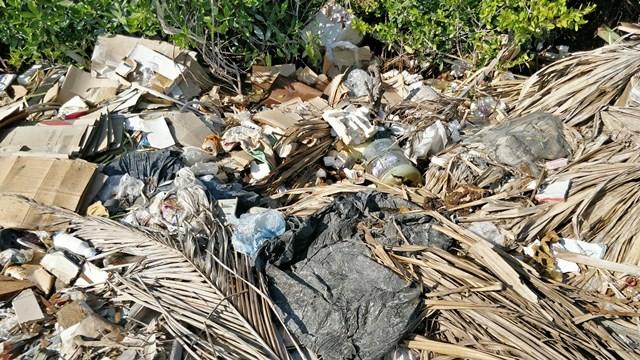 Ambergriis Caye Belize Garbage Crisis
