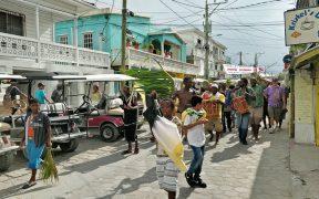 San Pedro Belize Garifuna Settlement Day Parade 2018
